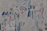 """Jacques Villion, Laborde """"Parkway"""" Cubist Style Lithograph"""