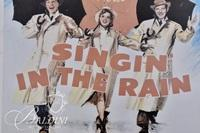 """Singing in the Rain"" Framed Movie Poster"