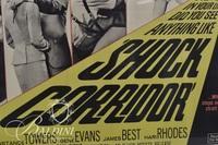 """""""Shock Corridor"""" Framed Movie Poster"""