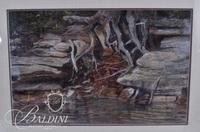"""Peggy Deal """"Along the Creek"""" Pastel"""