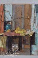 "H.Walton Cannon ""Still Life"" Pastel"
