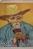"""Vincent Van Gogh, Jaques Villon Chalcographie Du Louvre """"The Peasant"""" After Van Gogh"""