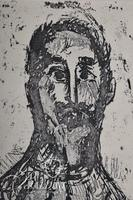 """Nahum Tschacbasov (Russian 1899 - 1984) """"Portrait of a Man"""" Etching, Signed and Numbered 17/100"""