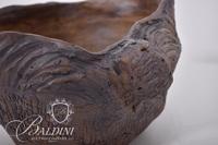 Pottery Bowl with Irregular Edge