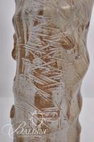 Textured Tall Pottery Vase