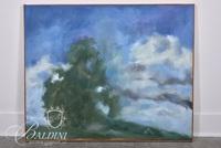"Edward Carlos ""Hillcrest"" Oil on Canvas"