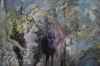 "Louise Lehman ""Eternal Spring"" Mixed Media, Signed"