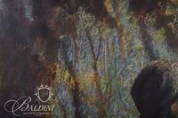 """Jo Anne Seigenthaler """"Le Pensuer"""" Framed Pastel, Signed Lower Left"""