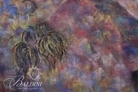 """Jo Anne Seigenthaler """"Figure I"""" Framed Pastel, Signed"""