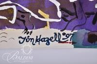 "Tim Hazell ""Untitled #2"" Mixed Media, Signed"