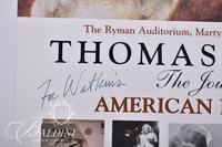 "Thomas B. Allen ""Journey of an American Illustrator"" Movie Poster Signed by Thomas B. Allen"