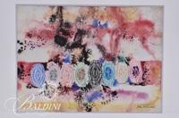 "John Richardson ""Jewels"" Mixed Media, Signed"
