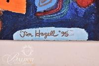 """Tim Hazell """"Catch of the Day"""" Mixed Media, Signed"""