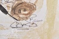 "David Pfister ""The Steps"" Mixed Media, Signed"