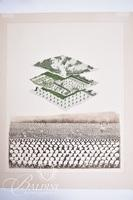 """David Bigelow """"A Question of Balance"""" 1st State A/P Etching"""