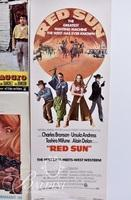"""(5) Movie Posters Includes """"Red Sun"""" and 4 Others"""