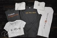 Watkins Long Sleeve and Short Sleeve Shirts with School Logos, Assorted Sizes