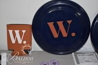 Watkins Memorabilia Includes Buttons, Frisbees, Lanyards and Koozies