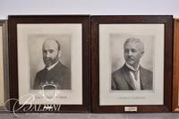 (4) Framed Portraits - One is Signed