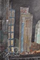 """Christie Long Nuell """"Nashville Issues"""" Hand Colored Etching"""