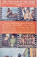 """(2) Movie Posters """"Funny"""" and """"Days of Thrills and Laughter"""