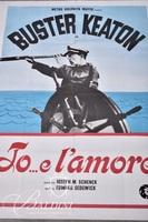 """Buster Keaton Jo...el'amore"" Movie Poster"