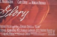 """(2) Movie Posters; """"Angel Heart"""" and """"Glory"""""""