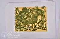 "Woodblock Bird Print and ""Sold"" Limited Edition Print, Signed and Numbered 5/5"