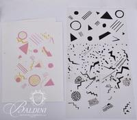 80's Relief Prints and Stencil