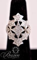 Star Ring, Stamped 925 R China
