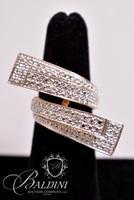 Large Wrap Ring, Stamped 925 R China