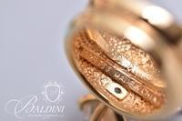 CZ 2-Stone Ring, Stamped 925 JJJ China