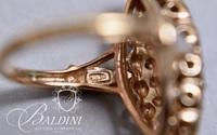 Cocktail Ring, Stamped 925 MEDA China