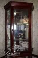 Lighted Corner Curio Cabinet