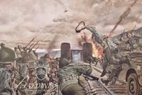 """(2) Military Prints """"Remagen Bridgehead"""" and """"Those are Regulars, By God"""""""