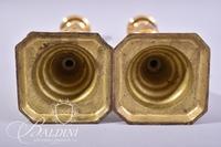 (5) Brass Candlesticks