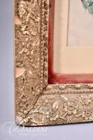 Currier & Ives Framed Art