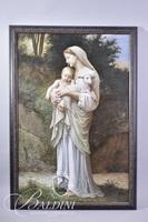 Oil on Canvas of Madonna and Child