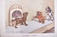 (3) Boris O'Klein Dirty Dogs of Paris Series Prints