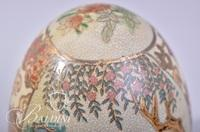 Hand Painted Asian Export Egg