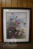G. Webb Botanical Themed Lithograph Signed and # 95/100