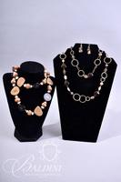 (2) Costume Necklaces and One Pair Earrings