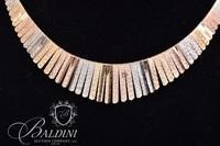 18 Kt Riccio Gold Necklace 32.7 grams