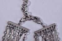 (2) Silver Tone Necklaces