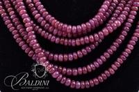 Ruby/Purple Sapphire Necklace