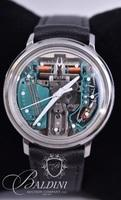 Bulova Accutron Tuning Fork Skeleton Watch