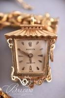 18Kt Rolex Lantern-Form Pendant Bracelet Watch Attributed to Frances Langford - With Current Appraisal