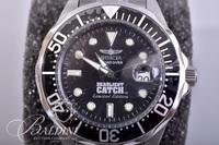 """Invicta Limited Edition 47mm """"Grand Diver Deadliest Catch"""" Watch in Large Yellow Case"""