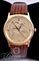Swiss Made Quartz Watch on Leather Band