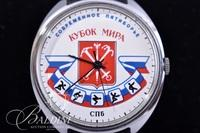 Russian Made Olympic Sports Symbol Watch on Patek Philippe Band